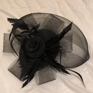 Tea party hat with veil